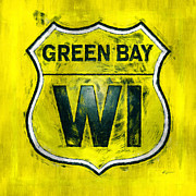 Green Bay Digital Art Framed Prints - Green Bay Wisconson Framed Print by Anthony Ross