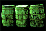 Wine Barrel Photos - Green Beer by LeeAnn McLaneGoetz McLaneGoetzStudioLLCcom