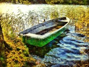 Camille Originals - Green Boat by Marina Kaehne