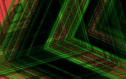 Geometry Digital Art - Green Digital Art by Mario  Perez