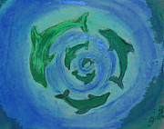 Shelley Myers - Green Dolphin Swirl