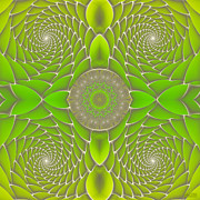 All - Green Fractal Jewel by Hanza Turgul