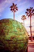 Paul Velgos - Green Globe at Newport Beach Pier Picture