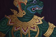 Gregory Smith - Green Hanuman Mural