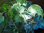 LaVonne Hand - Green Leaves Study