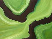 Research Paintings - Green by Megan Zilm