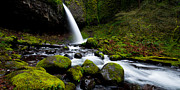 Waterfalls Photos - Green Mile by Chad Dutson