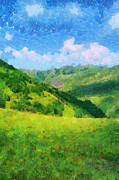 Magomed Magomedagaev - Green mountains under...