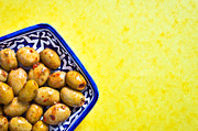 Spiced Photos - Green olives by Tom Gowanlock