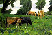 Image Painting Originals - GREEN PASTURES ROANN reposted reposted by Charlie Spear