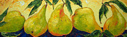 Paris Wyatt Llanso - Green Pears in a Row