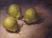 Patti Trostle - Green Pears Print...