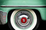 Plymouth Car Framed Prints - Green Plymouth Framed Print by Steve Stanger