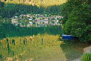 Marco Busoni Art - Green Reflections by Marco Busoni