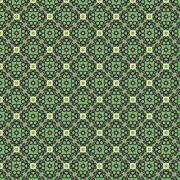 Graphics Tapestries - Textiles - Green Retro by Savvycreative Designs