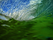 Green Room Wave Print by Brad Scott