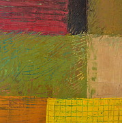 Michelle Calkins - Green with Yellow Boxes 2.0