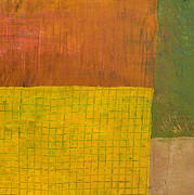 Michelle Calkins - Green with Yellow Boxes