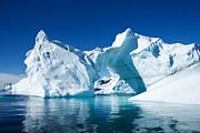Greenland Iceberg Print by Boon Mee