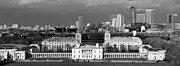 Royal Naval College Metal Prints - Greenwich and Docklands Metal Print by John Gomez