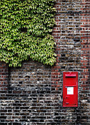 Greenwich Metal Prints - Greenwich Post Box Metal Print by Mark Rogan