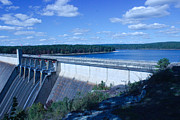 Heber Springs Photos - Greers Ferry Dam by Edward Hamilton
