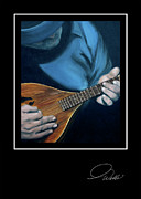 Andrew Wells - Greeting Card - Mandolin
