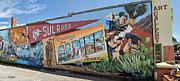 Allen Sheffield - Greetings  from Alpine Texas Mural