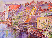 Greetings From Nuremberg Print by Alfred Motzer