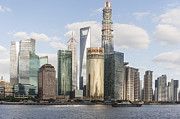 The Bund Prints - Greetings from Shanghai Print by Michel Verhoef