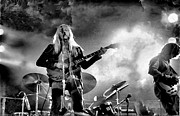 Gregg Allman Art - Gregg Allman by Bold Coast Photography