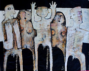 Figures Mixed Media - GREGO No.3 by Mark M  Mellon
