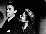 Peck Framed Prints - Gregory Peck Vintage Movie Scene Framed Print by Sanely Great