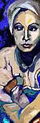 Ginette Fine Art LLC Ginette Callaway - Greta Abstract Modern Portrait