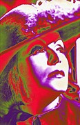 Christina Mixed Media - Greta Garbo in Queen Christina by Art Cinema Gallery