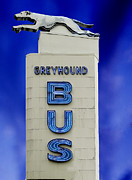 Greyhound Prints - Greyhound Bus Print by Carol M Highsmith