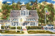Brigadoon Prints - Greystone Inn II Print by Kip DeVore