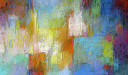 Composition Pastels - Grid Composition by Debora Stewart