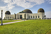 Griffith Art - Griffith Observatory by Ricky Barnard