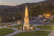 Clear Sky Images - Griffith Park Statue