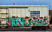 Train Art - Griffiti - Tosk and Kiloe by Graffiti Girl