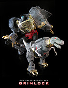 Prime Mixed Media - Grimlock by Frenzyrumble