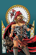 Grimm Mixed Media Framed Prints - Grimm Fairy Tales 01 Framed Print by Zenescope Entertainment