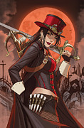 Hunters Moon Prints - Grimm Fairy Tales Unleashed Vampires 02A Print by Zenescope Entertainment