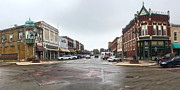 Grinnell Iowa - Downtown - 05 Print by Gregory Dyer