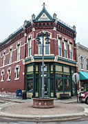 Grinnell Iowa - Downtown - 03 Print by Gregory Dyer