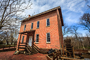 Wood Mill Photos - Grist Mill in Northwest Indiana by Paul Velgos