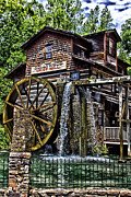 Grist Mill Posters - Grist Mill Poster by Jason Abston