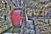 Sudbury Ma Photo Posters - Grist Mill Sudbury Poster by Adam Green