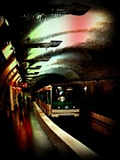 Tunnels Prints - Gritty Print by John Malone